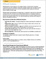 MDaudit Analytics Overview