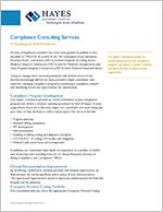 Hayes Compliance Services Overview